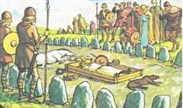 Похоронный обряд викингов