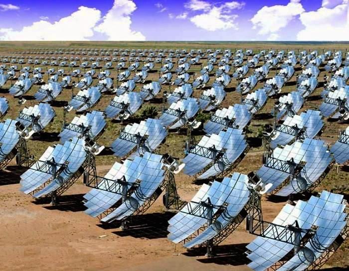 Солнечная энергия от солнечных батарей