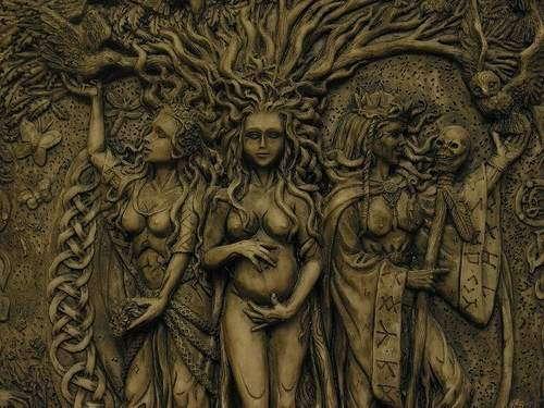 Викканство - тройная богиня