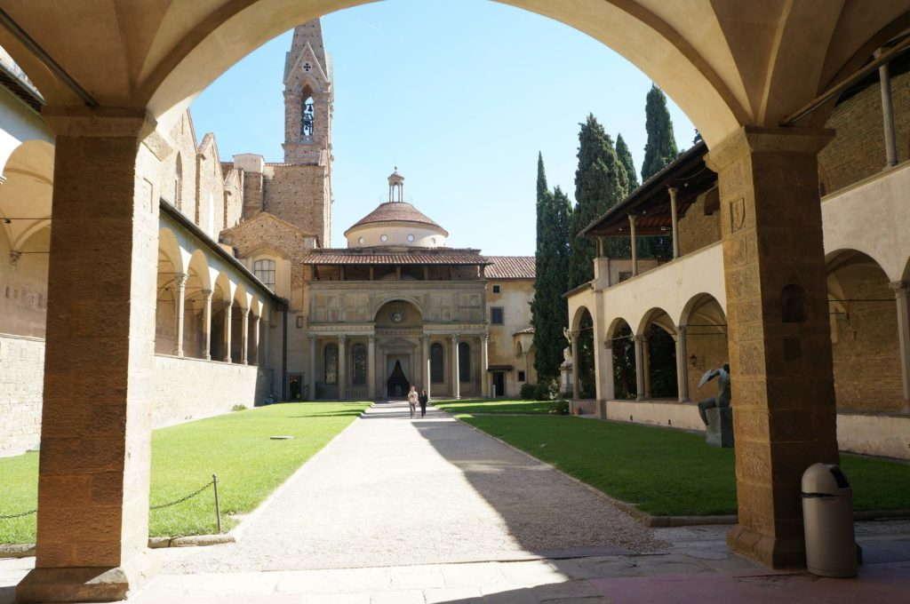 Капелла Пацци, Флоренция