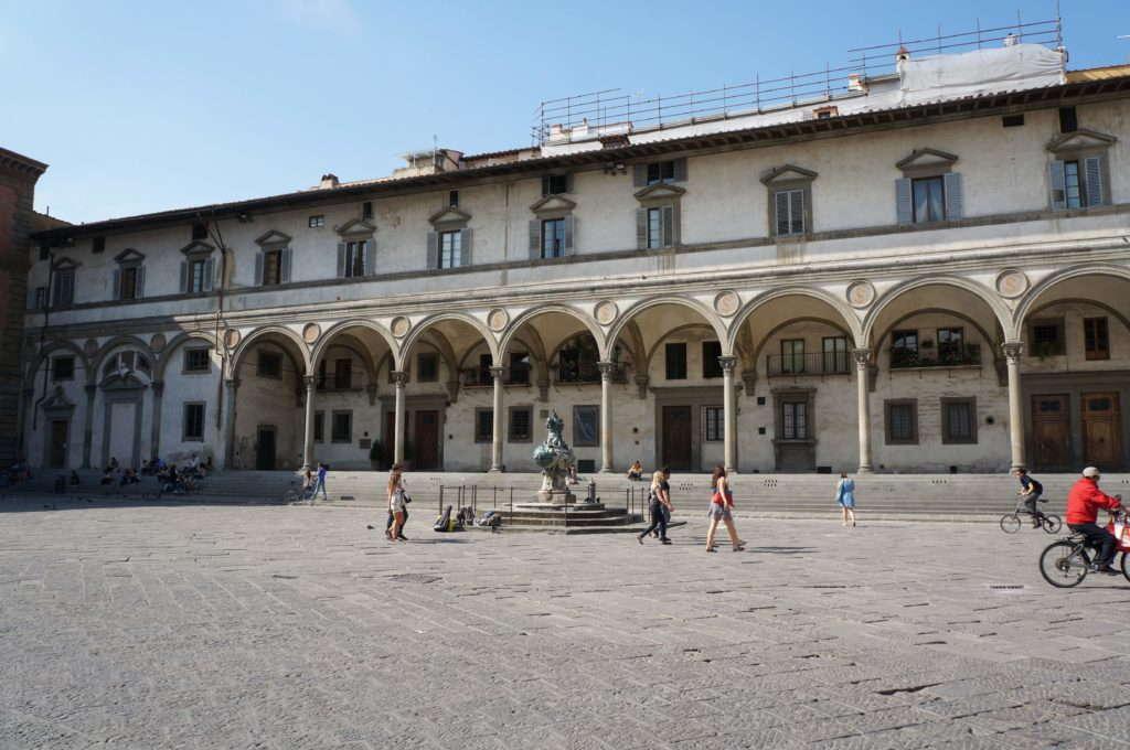 Лоджии дельи Инноченти, Флоренция