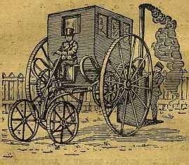 Первый коммерческий паровой автомобиль
