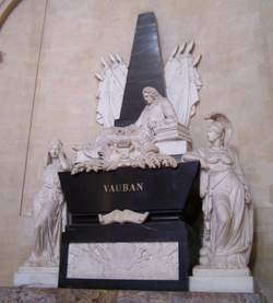 Себастьен ле Претр де Вобан - надгробный памятник