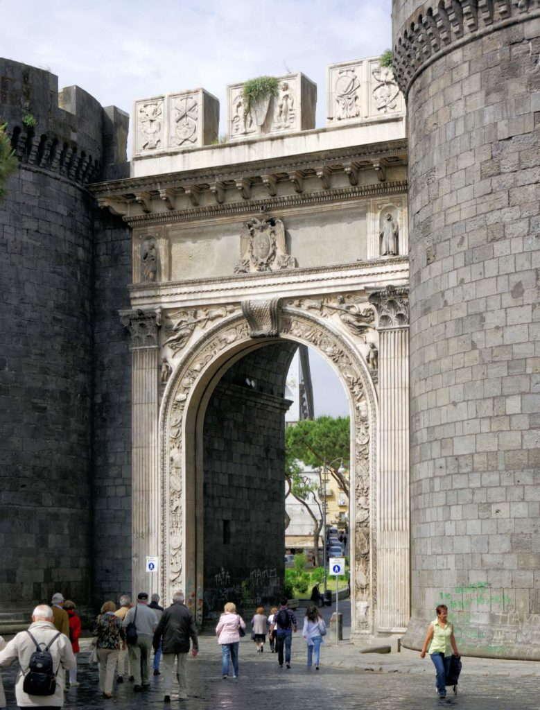 Tpиyмфальная арка короля Альфонса Арагонского
